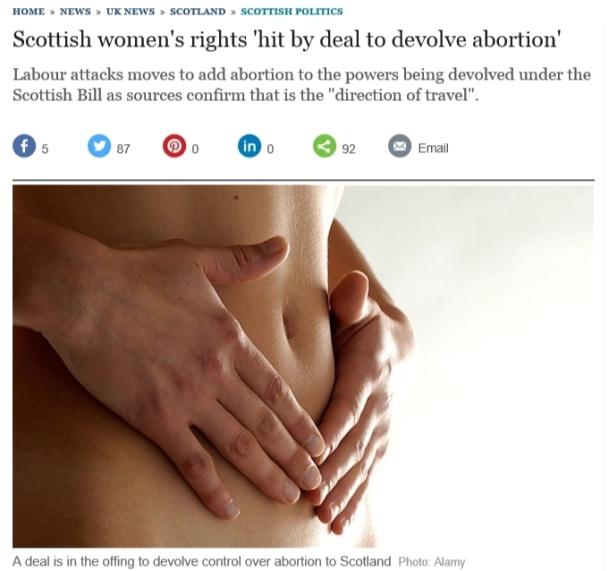 abortion scotland