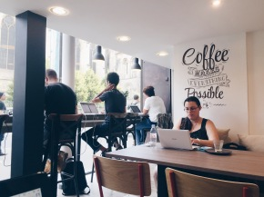 Hubsy, the Perfect Coworking Café